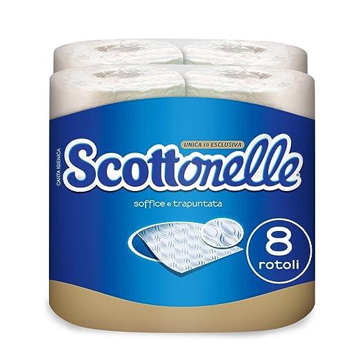 42 opinioni per Scottonelle Carta Igienica Soffice e Trapuntata, 8 Rotoli