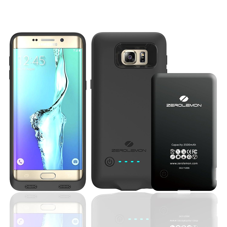 timeless design 55f87 a3d7c ZeroLemon 3500mAh Slim Power Battery Case for Samsung Galaxy S6 Edge ...