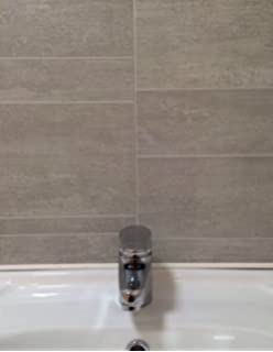 Multi Tile Greystone Tile Effect Panel Bathroom Cladding PVC ...