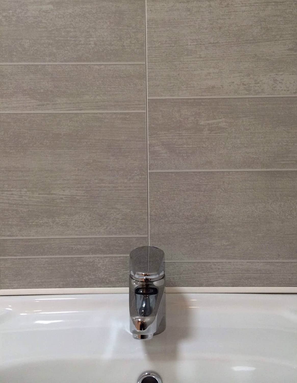Swish Marbrex Moonstone Tile Effect Sample Wall Panels Bathroom PVC Wet Cladding