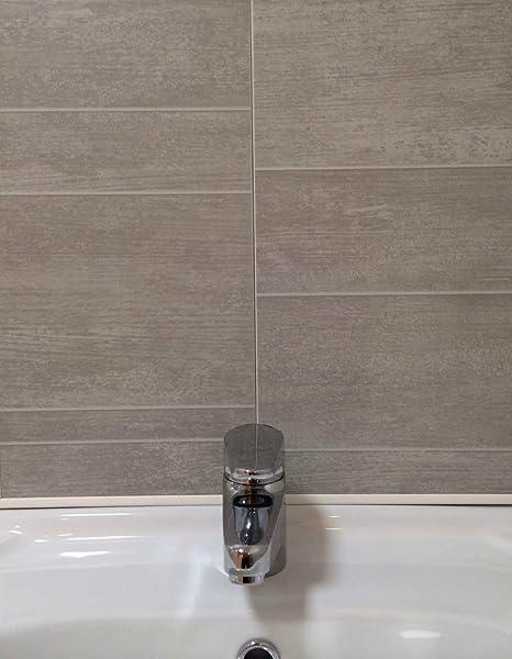 Swish Marbrex Moonstone Tile Effect Sample Wall Panels Bathroom PVC Wet  Wall Cladding Sample