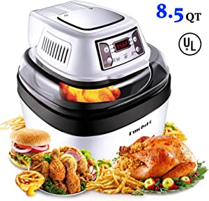 Amazon Giveaway [Upgraded] DmofwHi Large Air Fryer Toaster...