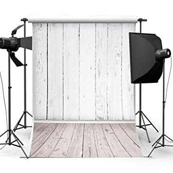 white wood floor background. Mohoo 5X7ft Silk White Wood Floor Photography Backdrop Studio Prop Background