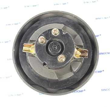 3 Month Warranty 31Q4-02130 Fuel Cap Assy SINOCMP Excavator Locking Fuel Tank Cap Assy with 2 Keys For Hyundai R140LC-9 R140W-9 R145CR-9 R160LC-9 Excavator Parts