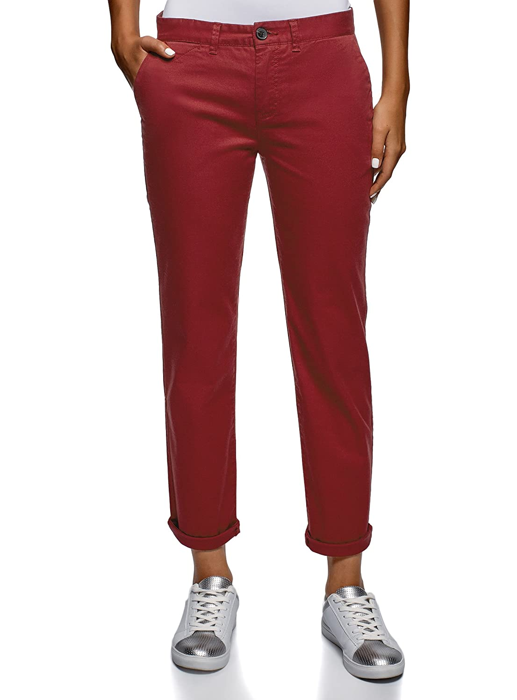 oodji Ultra Donna Pantaloni Chino in Cotone RIFICZECH s.r.o. 11706210