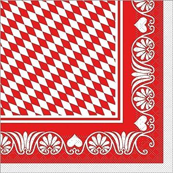 Braun saugstarke und hochwertige Einweg-Servietten ideal f/ür Gastronomie /& Feiern Sovie HORECA Serviette Romeo 100 St/ück Tissue-Servietten 40x40cm