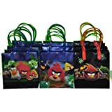 Angry Birds Space Party Favor Goodie Gift Bags Small 12 Pack