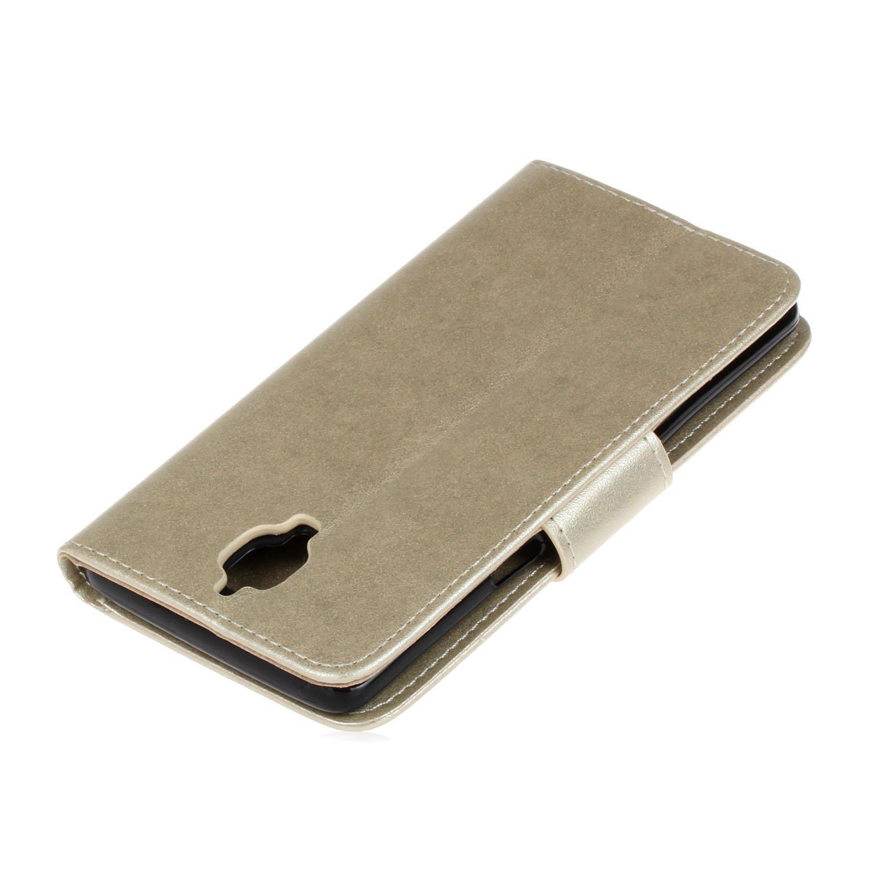 One Plus 3 Custodia - magqi Elegante Lusso Flip Folio Portafoglio Cover  Premium PU Pelle Slot in rilievo della farfalla Fiori della fila di  cerniera Tasche ... d5f42bbf1a