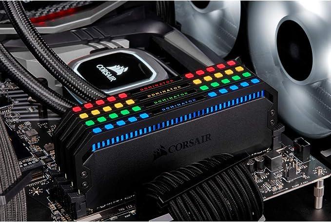 Corsair Dominator Platinum Rgb Black Computers Accessories