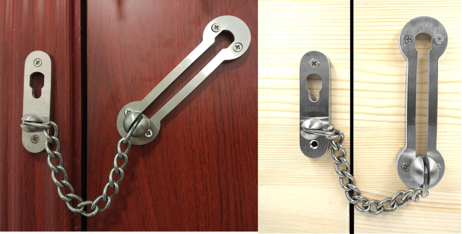AR-House Extra-thick Door Chain Lock-- Sus304 Stainless Steel ...