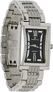 Christian Geen Analog Watch For Men - Stainless Steel, Silver - 4017Gbg-Iv
