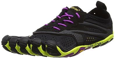 d904c58a4c Vibram FiveFingers Women's V-Run Barefoot Shoes Black/Yellow/Purple ...