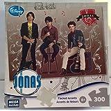 Jonas Brothers - Rock Stars - 300 Piece Velour Accent Jigsaw Puzzle