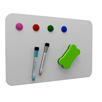 Majic Board, Magnetic Dry Erase Board For Kitchen Fridge Markers, Small  Magnets For Whiteboard