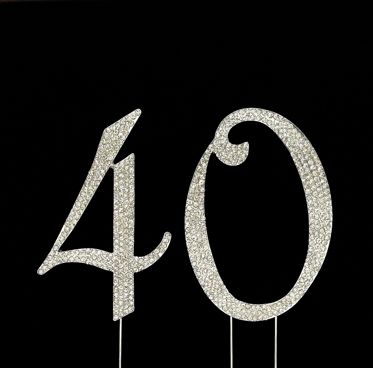 Amazon Number 40 For 40th Birthday Or Anniversary Cake Topper