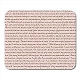 Jane Austen 6 Novels Mouse Pad