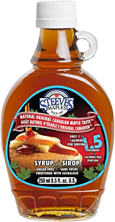 665ccd8deaa Steeves Maples 250ml Natural Original Sugar Free Canadian Maple Taste Syrup   Amazon.ca  Grocery