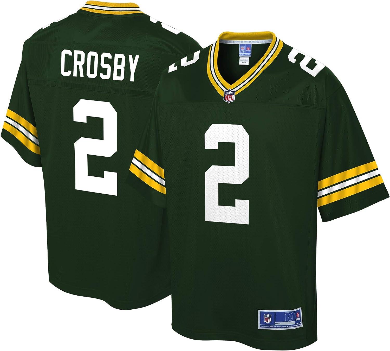 Amazon.com : NFL PRO LINE Men's Mason Crosby Green Green Bay ...