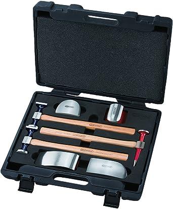 KS Tools 140.2100 - Pack de 7 piezas con herramientas para desabollar carrocerías: Amazon.es: Industria, empresas y ciencia