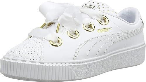 sneakers basses femme puma blanc