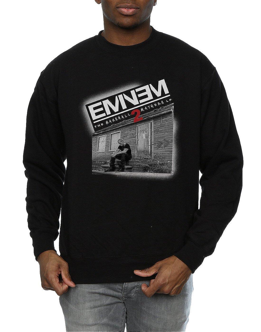 Eminem Hombre Marshall Mathers 2 Camisa De Entrenamiento: Amazon.es: Ropa y accesorios
