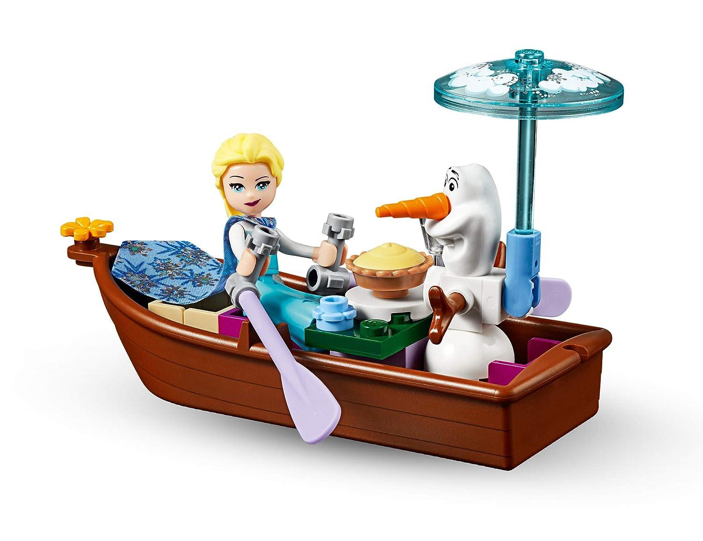 Frozen Elsas Abenteuer auf dem Markt Spielzeug f/ür M/ädchen und Jungen LEGO Disney Princess 41155