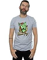DC Comics Herren Bombshells Poison Ivy Badge T-Shirt