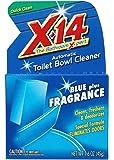 X-14Blue Plus Fragrance Automatic Toilet Bowl Cleaner,1.6 OZ [12-Pack]
