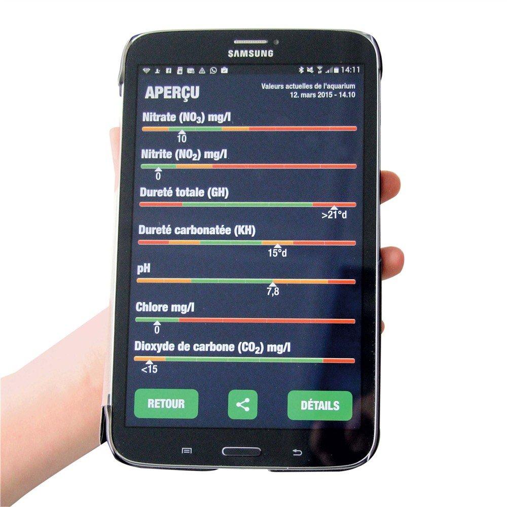 *JBL ProScan 25420 Wassertest mit Smartphoneauswertung für Süßwasser Aquarien
