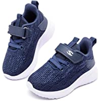 HOBIBEAR Kids Running Shoes Lightweight Mesh Athletic Sneakers