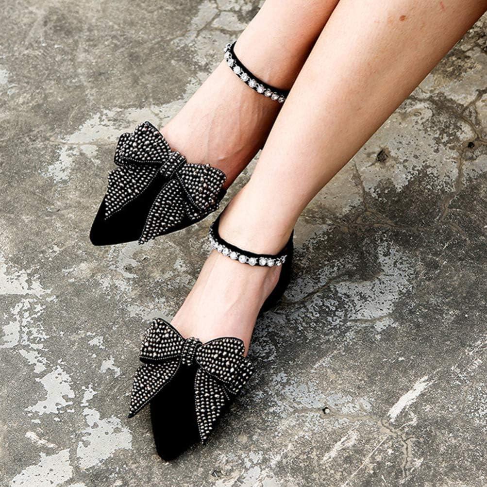 SUPVOX Clips de Zapatos de Lazo de Diamante Clips Decorativos de Zapato Decoraci/ón Adorno Joyer/ía de Zapatos para Boda Mujer