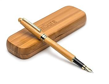 stylo plume bambou