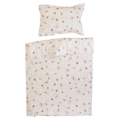 3a10060b8583c Sunrise - PatiChou 100 % Coton Linge de lit pour bébé  (Taie doreiller et  Housse de ...