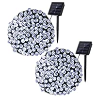 Qedertek 200 LED Solar String Lights