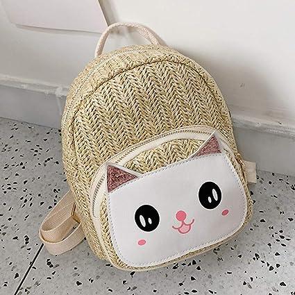 Creativo Linda Mochila con Forma de Encantador Gato para Las ...