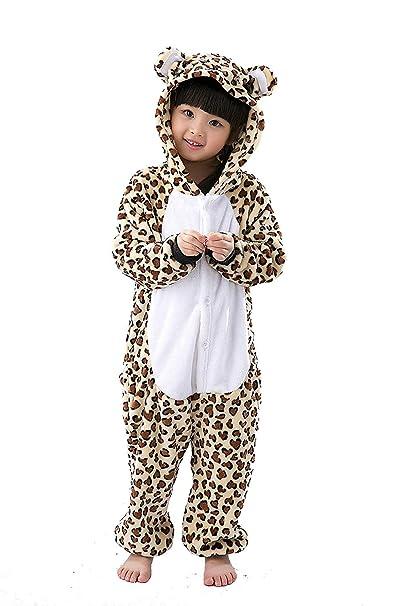 Kigurumi Unisexo Niños Animal Pijamas Carnaval Halloween Navidad Cosplay Disfraz Oso: Amazon.es: Ropa y accesorios