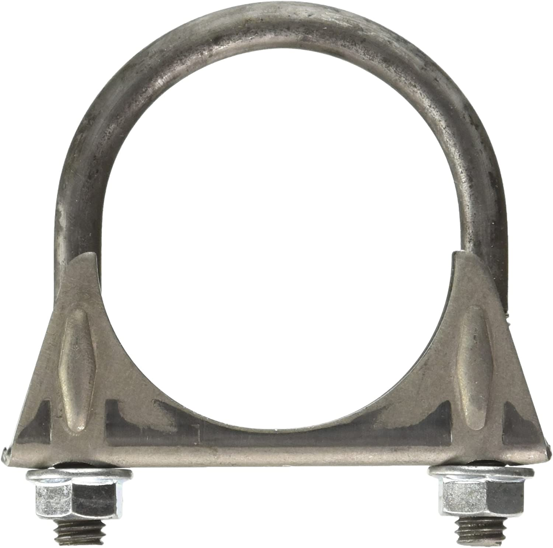 2-1//4 Standard Duty U-Bolt Exhaust Clamp 35413 Walker