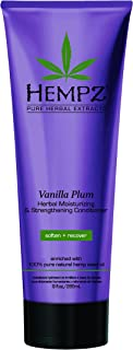 product image for Hempz Moisturizing and Strengthening Conditioner, White, Vanilla Plum, 9 Fluid Ounce