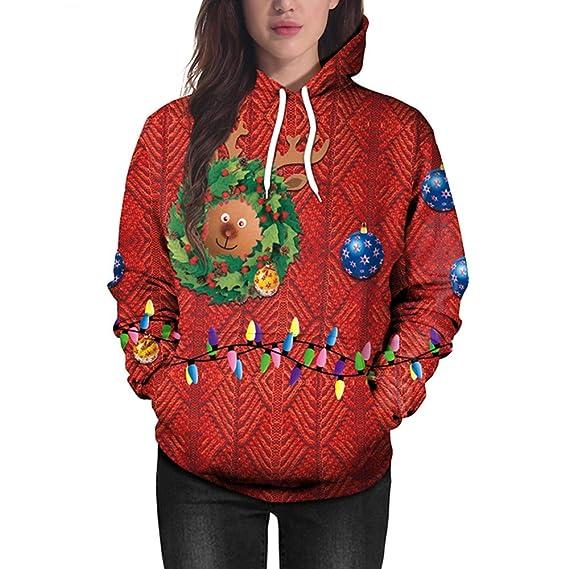 ASHOP Ropa Mujer, Sudaderas Mujer Tumblr Invierno Blusas Verano Color Azul Tops Fiesta: Amazon.es: Ropa y accesorios