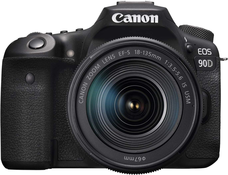 Câmera Canon DSLR EOS 90D + 18-135mm IS USM: Amazon.com.br ...