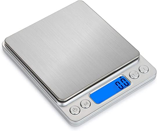 3kg//0.1g Elektronische Feinwaage Briefwaage Küchenwaage Waage Mit Digital LCD