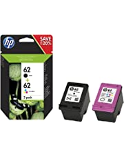 HP 62 2-pack Black/Tri-color Original Ink Cartridges (N9J71AE)