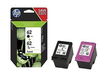 HP 62 Pack de 2 Cartouches d
