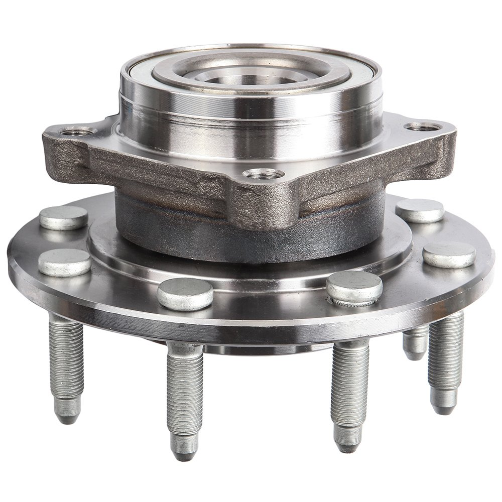 Front Wheel Hub Bearing Assembly 8 Lugs w//ABS for GMC Chevrolet Compatible 2001-2007 with 515086