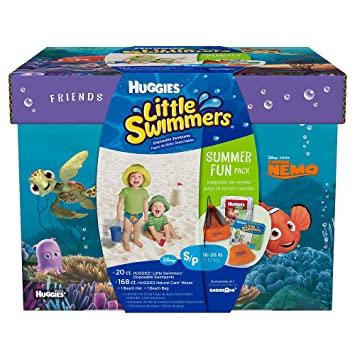 Amazon.com: Huggies Little Swimmers Summer Fun Pack with Nemo - 20ct ...