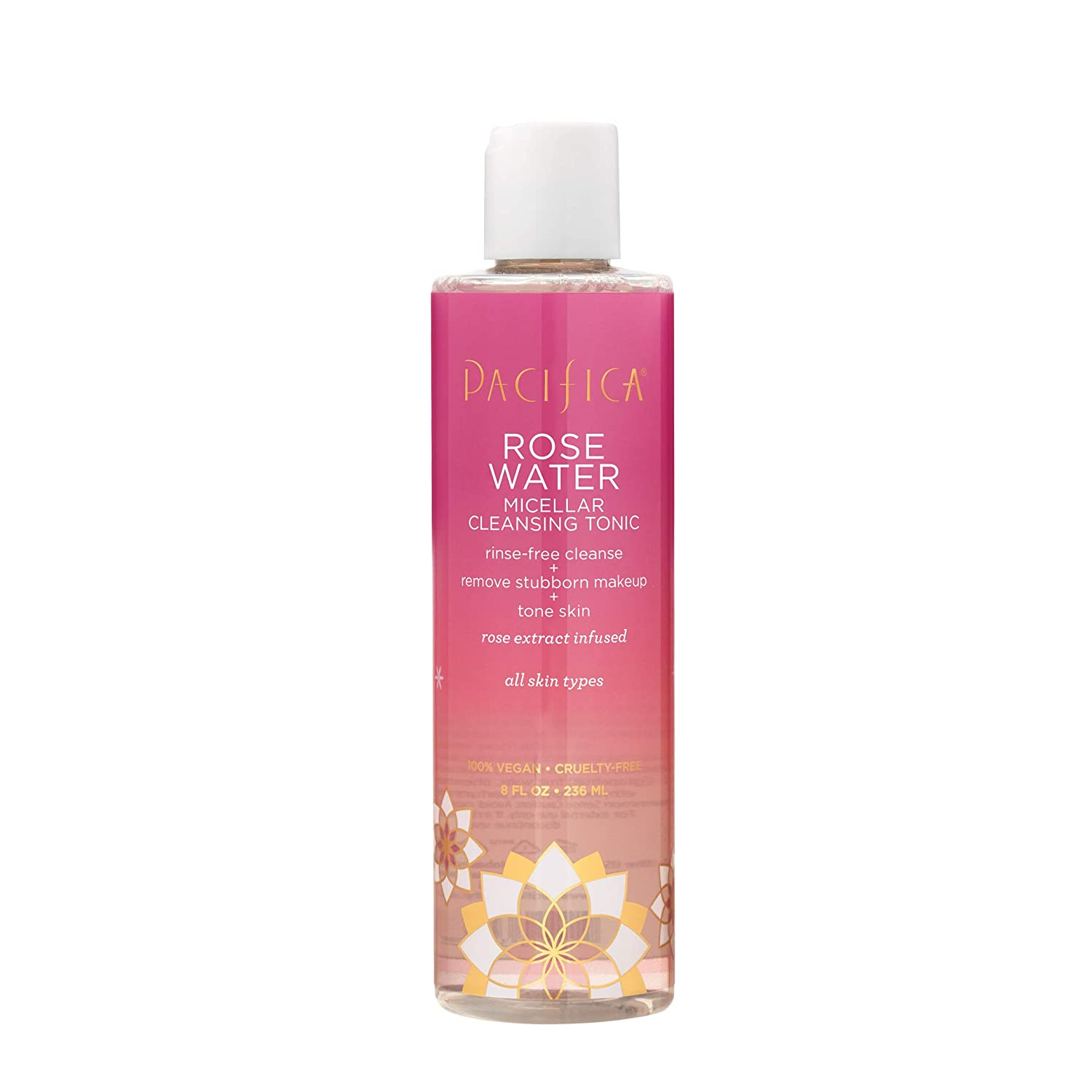 Pacifica Rose Water Micellar Cleansing Tonic, 8 Oz