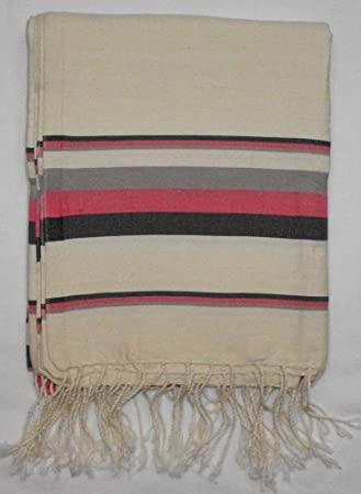 Bora Rosa -100% algodón Fouta toalla de baño, 100 cm x 200 cm, probablemente la ...
