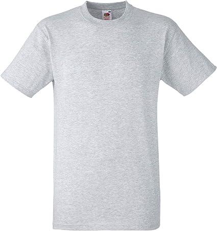 Fruit of the Loom – Camiseta para hombre pesado algodón Calidad, (Tallas S – XXXL, disponible en 8 colores: Amazon.es: Ropa y accesorios