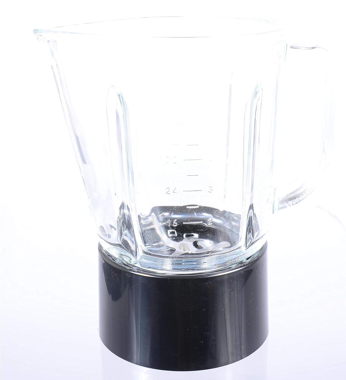 Tarro de licuadora de 1.5 litros con ensamble en negro ónix ...