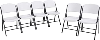 6-Pack Lifetime Classic Folding Chair